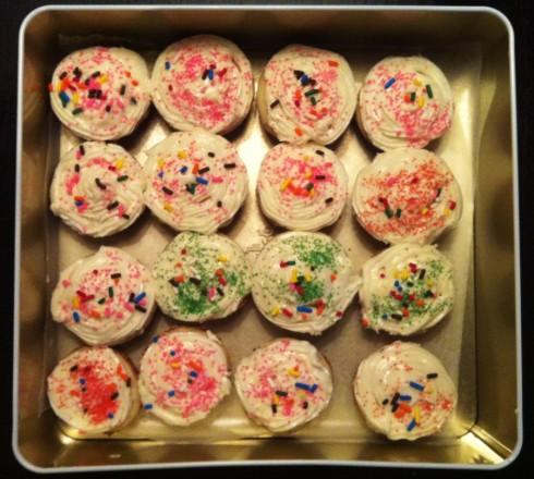 Cupcakes in Tin